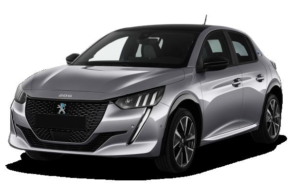 Peugeot 208  electrique 50 kwh 136ch